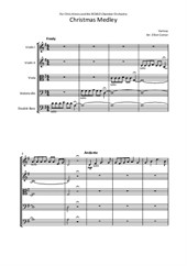 Christmas Medley for Chamber Orchestra