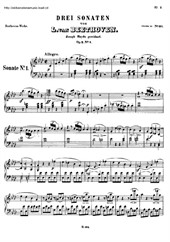 Piano Sonatas No.1 to 8 (Book)