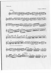 Andante for violin solo