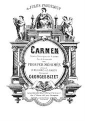 Carmen (for solo piano)