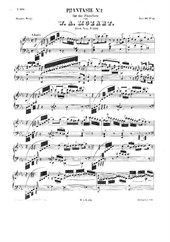 Fantasia No.2 in C minor