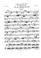 Violin Sonata No.1 in C major (for violin and piano)