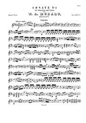 Violin Sonata No.2 in D major (for violin and piano)