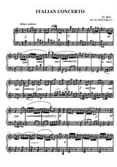 Italian concerto (Easy piano)