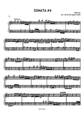 Sonata No.4 (easy piano)