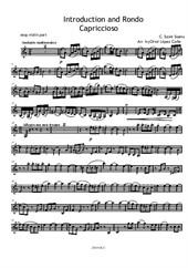 Introduction and Rondo Capriccioso (easy piano and violin) – Violin part