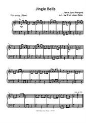 Jingle Bells - Christmas Carols for easy piano
