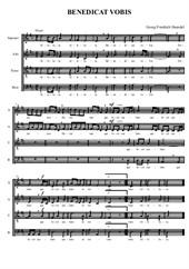 Benedicat Vobis (voice quartet)