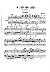 The Magic Flute (piano 4 hands)